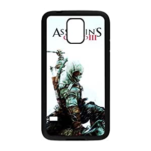 Happy Assassin's creed Cell Phone Case for Samsung Galaxy S5 Kimberly Kurzendoerfer