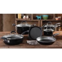 The Pioneer Woman Vintage Speckle 10-Pc.Cookware Set
