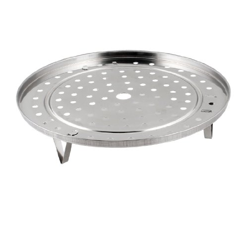 Cooking Round Stainless Steel 22cm Diameter Steaming Rack w Stand