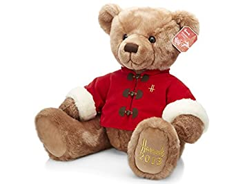 Harrods Sebastian de Navidad oso de peluche 2013
