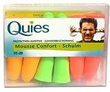 quies wax ear plugs - Quies Rubber Foam Ear Plugs 6 Pairs