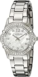 Stuhrling Original Women's 703B.01 Vogue Audrey Silver-Tone Watch