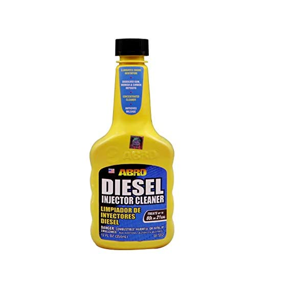 Abro DI-502 SUV Car Diesel Fuel Treatment and Injector Cleaner for Mileage Improvement & Deposit Cleaning (354 ml)