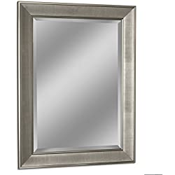 Headwest 8013 Pave Wall Mirror, Brush Nickel