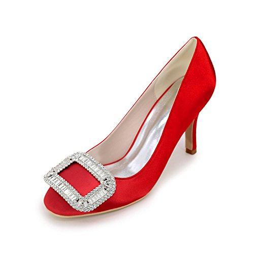 Stiletto red pour Et Blanc Violet Mariage FêTe YC Bleu Argent Rouge Pompes Talons Toe Chaussures Heel Pointed Femmes SoiréE L gfIHwEqE