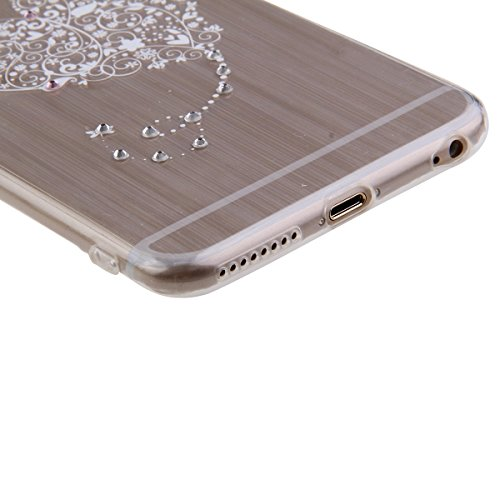 Funda para Galaxy Core Prime G360, funda de silicona transparente para Galaxy Core Prime G360,Galaxy Core Prime G360 Case Cover Skin Shell Carcasa Funda, Ukayfe caso de la cubierta de la caja protecto Diamond-Modelo del amor