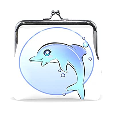ABLINK Anime Dolphin Wallet Card Holder Coin Purse Clutch Handbag