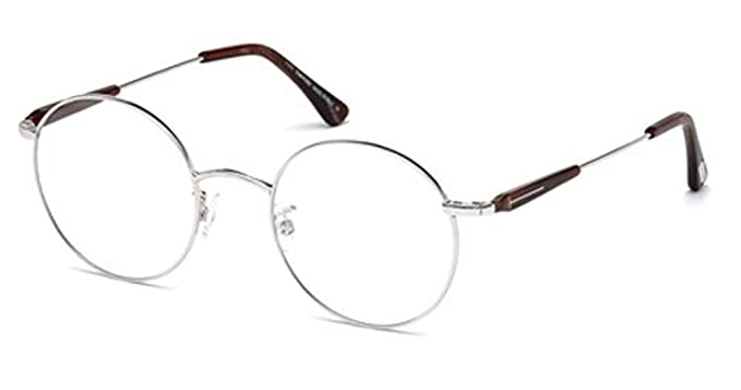 0ef867325 Image Unavailable. Image not available for. Color: Tom Ford FT5344/V 016/45-21  Silver Round Optical Frames