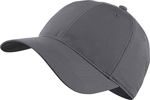 Nike Legacy 91 Adjustable Blank Custom Caps - Personalize With Your Own Team Or Business Logo (Dark Grey)