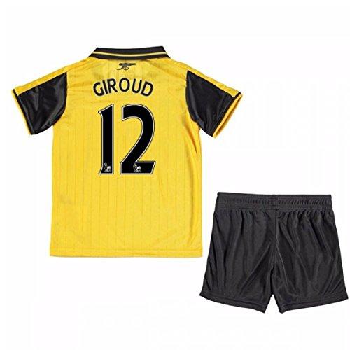 悔い改める休み異形2016-17 Arsenal Away Mini Kit (Giroud 12)