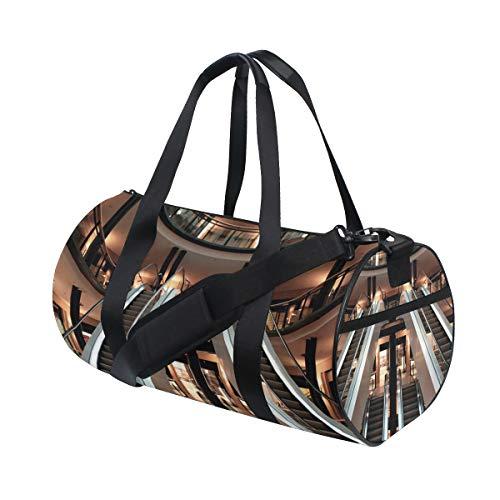 MONTOJ Escalator Picture duffel bag large gym duffle bag