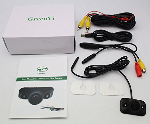 Greenyi Car Blind Spot Side View Camera Kit Infrared Leds