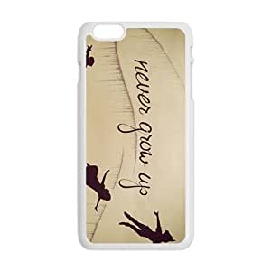 LINGH Never Grow Up Fashion Comstom Plastic case cover for iphone 4 4s