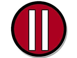Round #11 Julio Jones Sticker (Atlanta Falcons Colors Number 11)