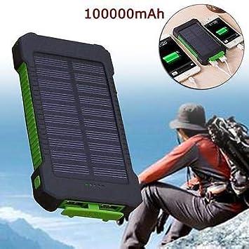 Amazon.com: FidgetGear - Cargador solar portátil resistente ...