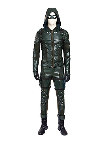 Hot TV Series Men's Archer Green Costume with Accessories Men's Halloween Costume (Custom-made, (Custom Made Halloween Costumes For Men)