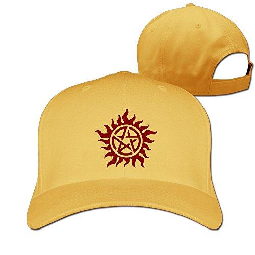 Supernatural Unisex Pure Color Baseball Cap Classic Adjustable Sun Hat