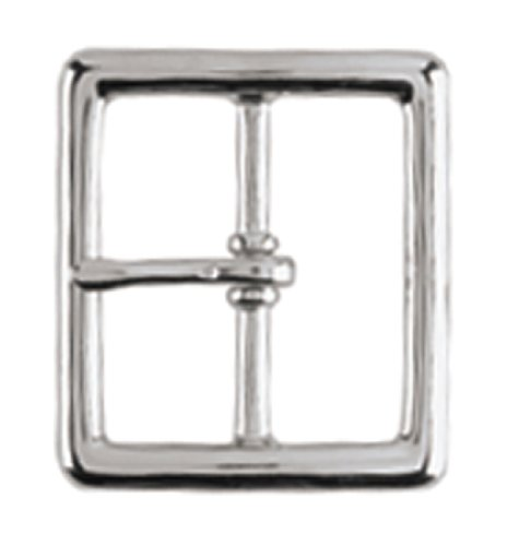 Gould & Goodrich 125-G Pants Belt Buckle Place On 1-3/4-Inch Belt (Nickel) (Buckle Garrison)