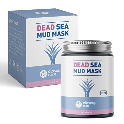 Closeup Care's Dead Sea Mud Mask For Face, Acne, Oily Skin & Blackheads - Best Facial Pore Minimizer, Reducer & Pores Cleanser Treatment - Natural For Younger Looking Skin