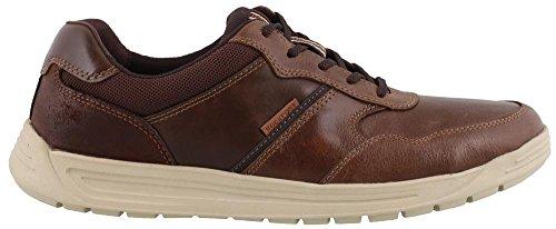 Rockport Men's Randle U bal Leather Shoe, brown, 13 M US