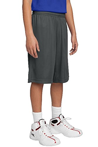 Sport-Tek Youth PosiCharge Competitor Short. YST355 Iron (Sport Tek Youth Color)