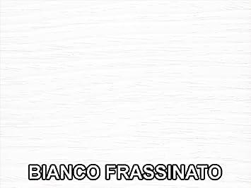 CUCINA IN 10 DIVERSE COLORAZIONI CAMERA LIVING Bianco frassinato DESIGN 100/% MADE IN ITALY VE.CA-ITALY MENSOLA COMPOSIZIONE DOPPIAL 4 CM IN LEGNO ARREDO CASA