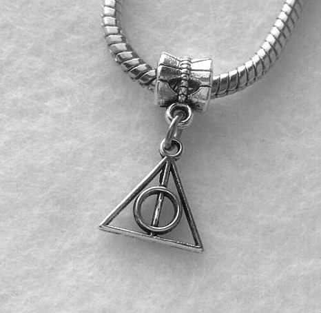 Amazon.com: Abalorio de Harry Potter con símbolo de las ...