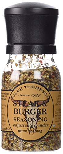 Olde Thompson 1020-10 Disposable Spice Grinder, 6-Ounce Steak and Burger Seasoning