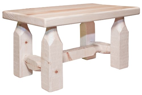 Montana Woodworks Homestead Collection Footstool, Ready t...