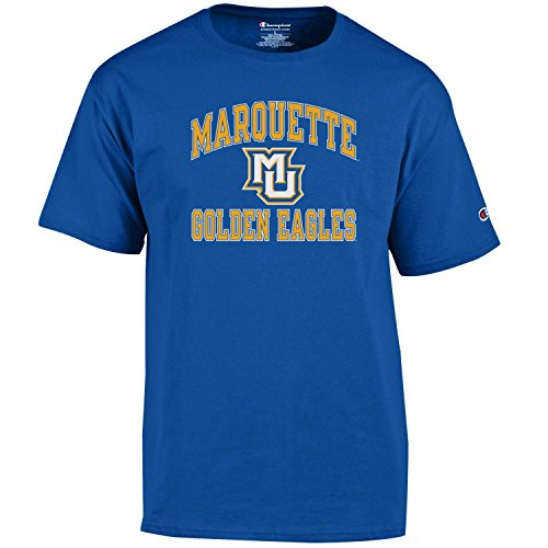low cost 7a309 04a17 Champion NCAA Men s Shirt Short Sleeve Officially Licensed Team Color Tee, .