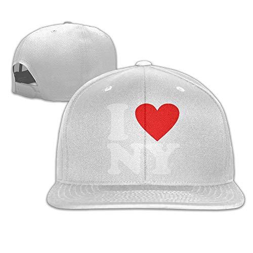 I Love NY New York Baseball Cap for Men&Women,Unisex Hip Hop Snapback ()