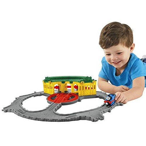 Fisher-Price Thomas & Friends Take-n-Play, Tidmouth Sheds Adventure Hub (Friends Yard & Scrap Thomas)