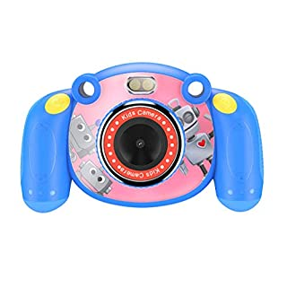 Digital Camera for Kids 2 Inch HD Kids Digital Video Gift Camera 1080P with LCD Display for Boys Girls (Dark Blue)