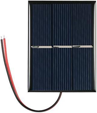 Benkeg Sonnenkollektor,0.65W 1.5V polykristalline Silikon-Sonnenkollektor-Solarzelle für DIY Energien-Aufladeeinheit 60 * 80mm