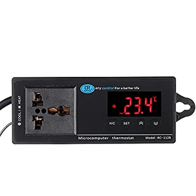 Digital thermometer -40-110 degree Industrial thermal regulator Temperature Controller thermostat for Aquarium Incubator Reptile