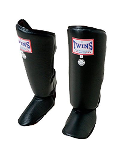 Twins Special Classic Shin Guard (Black) (Medium)