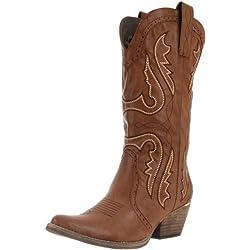 Very Volatile Women's Raspy Boot,Taupe,9 B US