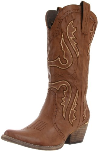 Very Volatile Women's Raspy Boot,Taupe,7 B US