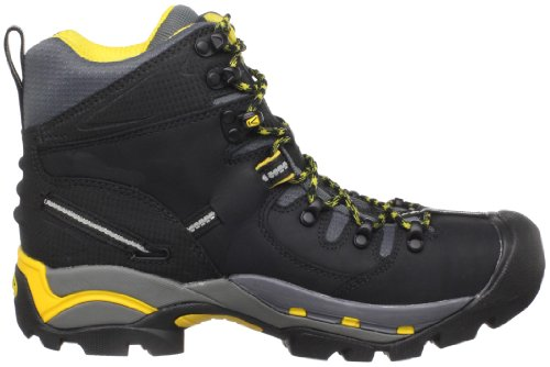 KEEN Utility Men's Pittsburgh Steel Toe Work Boot,Bison,10.5 EE US nero