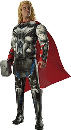 [Rubie's Costume Co Men's Avengers 2 Age Of Ultron Deluxe Adult Thor Costume, Multi, Standard] (Loki Costume)