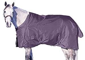 EOUS Original Medium Weight Turnout Blanket, Grape, 87