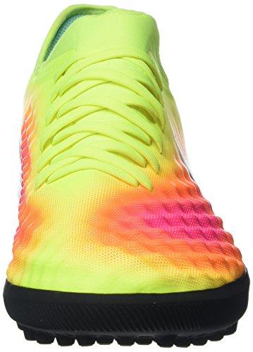 Nike Magistax Finale Ii Tf, Botas de Fútbol para Hombre Amarillo (Volt / Black-Total Orange-Pink Blast)
