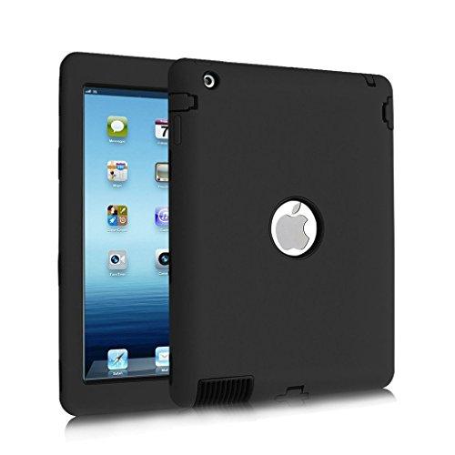 iPad 2 / 3 / 4 Case, Hocase Rugged Slim Shockproof Silico...