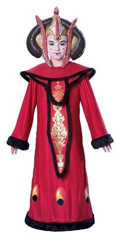 Star Wars Deluxe Queen Amidala Child Costume, (Amidala Bambino Costume)