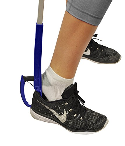 Blue Jay Stop Bending 32″ Extra-Long Shoehorn and Shoe Gripper, Get Your Shoe On, Dressing Made Easy, Eliminate Bending and Stretching With This 2-In-1 Shoehorn and Reacher, Mobility Aid