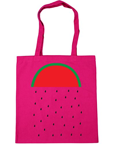 Watermelon Beach 42cm Shopping litres 10 HippoWarehouse Rain Fuchsia Bag x38cm Tote Gym d7XxwqC