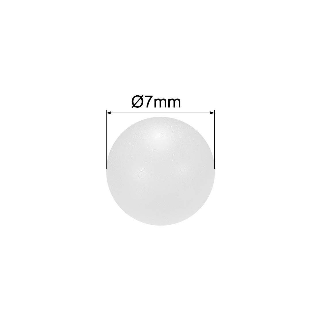 uxcell 4mm PP Solid Plastic Balls Precision Bearing Ball 200pcs