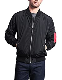 G-Style USA Men's Lightweight Bomber Flight Jacket