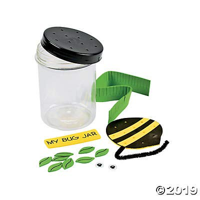 Plastic Bug Jar Craft Kit - Crafts for Kids and Fun Home Activities: Toys & Games