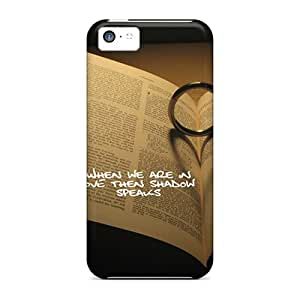 88caseme Shockproof Scratcheproof Love Shadow Hard Cases Covers For Iphone 5c